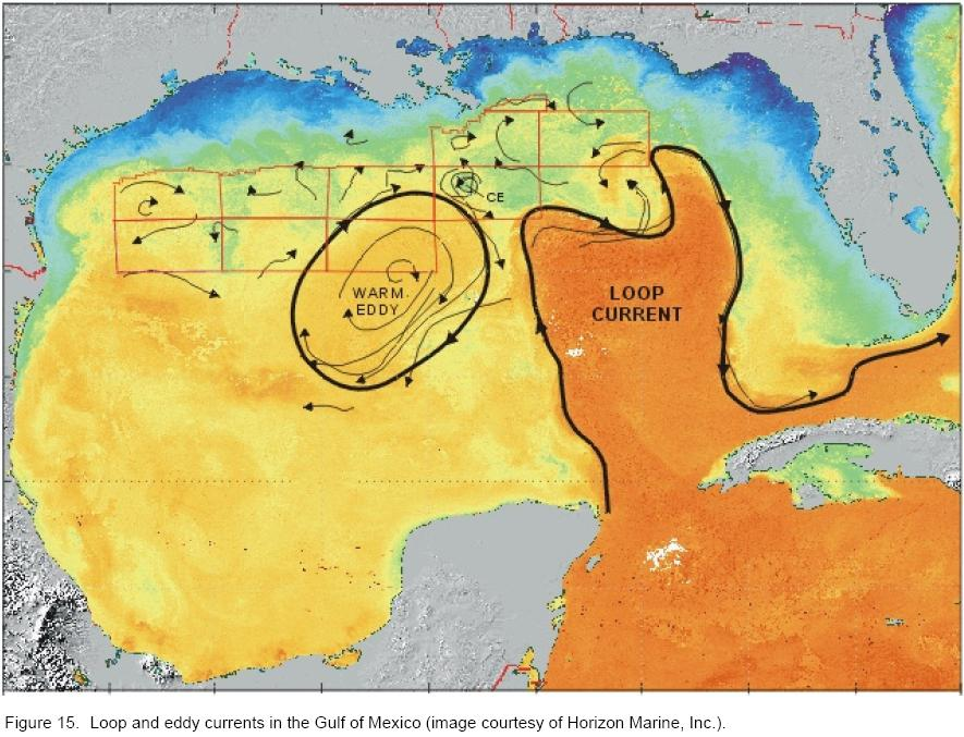 Ocean Current Monitoring  Deepwater Gulf of Mexico  Americas
