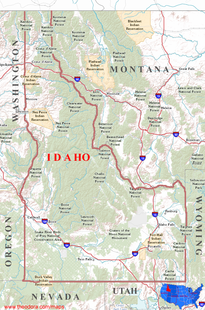 an introduction to the state of idaho Introduction to technical services and catalog records (15 contact hours)   click here for a list of states which accept these courses for their continuing.