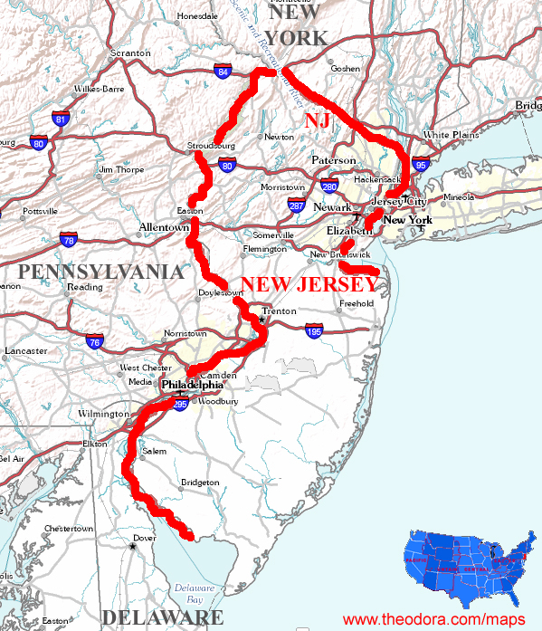 New Jersey Maps