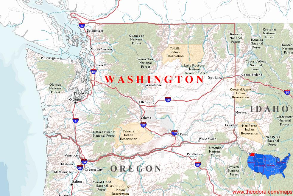 Washington Maps