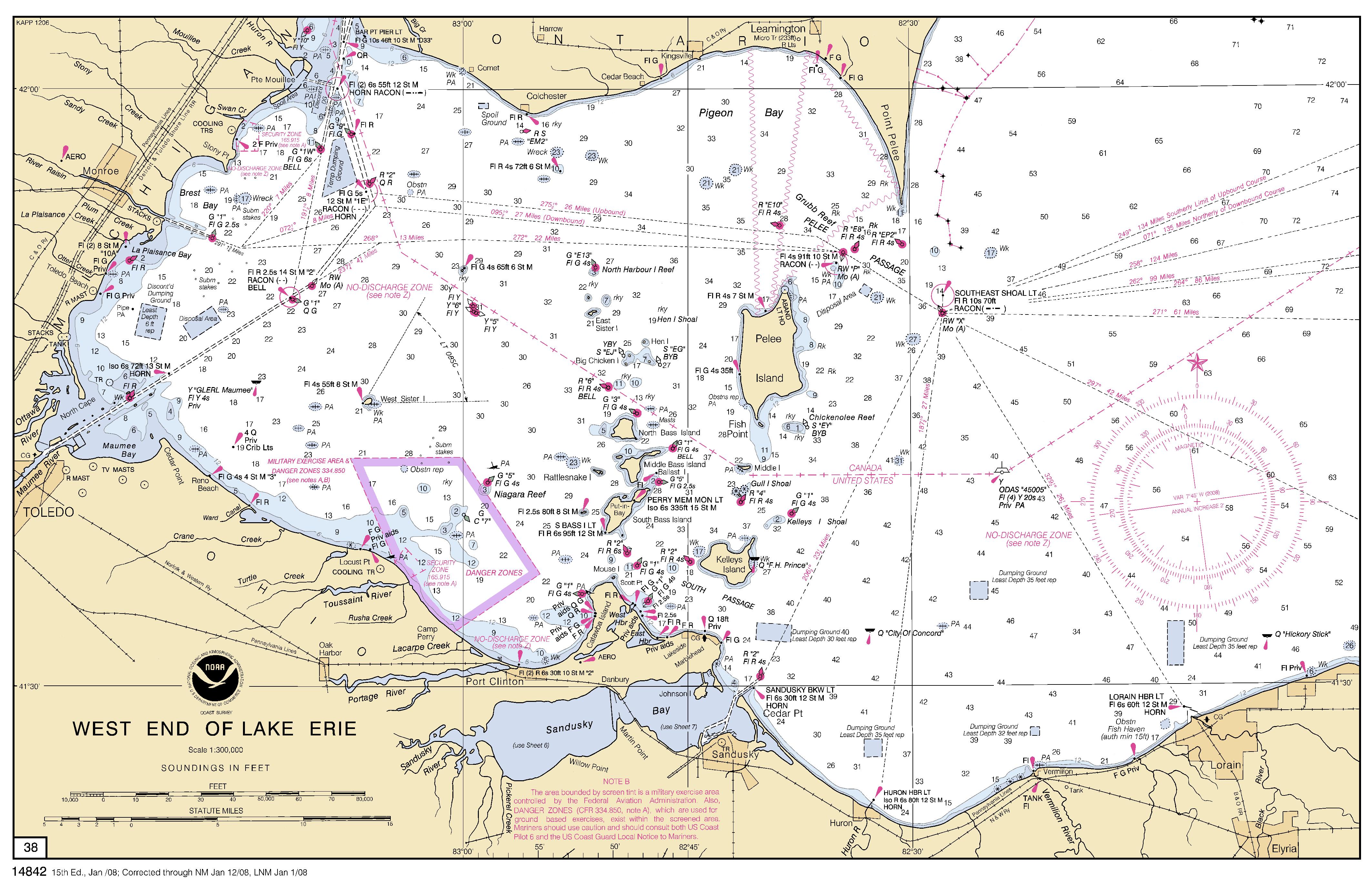 Map Of Lake Erie : My Blog