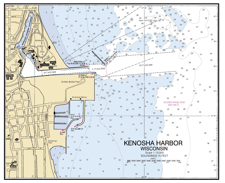 KENOSHA HARBOR WISCONSIN nautical chart - ΝΟΑΑ Charts - maps on grand chute map, superior map, fond du lac zip code map, norman map, lafayette map, wilmot map, peoria map, st francis map, woodstock map, sheboygan map, fennimore map, oconomowoc map, wausau map, schererville map, prairie crossing map, waukesha map, door map, city of racine map, racine wisconsin map, greensboro map,