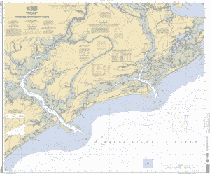 Edisto River Map STONO AND NORTH EDISTO RIVERS nautical chart   ΝΟΑΑ Charts   maps Edisto River Map