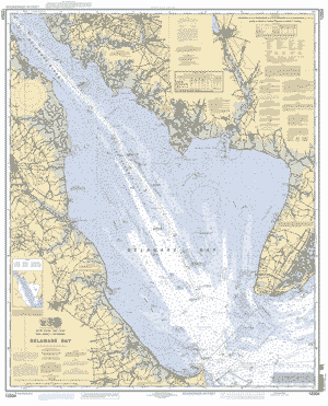 DELAWARE BAY nautical chart ΝΟΑΑ Charts maps