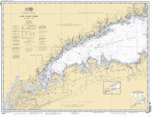 LONG ISLAND SOUND WESTERN PART nautical chart ΝΟΑΑ Charts maps
