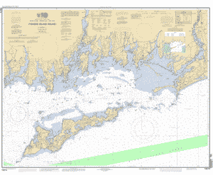 FISHERS ISLAND SOUND nautical chart Charts maps
