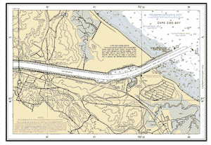 Cape Cod Canal And Approaches Extension Ma Nautical Chart Noaa