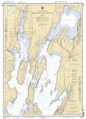 Lake champlain riviere richelieu to south hero island nautical chart click on the map to download full size gumiabroncs Image collections