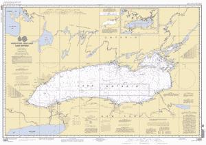 LAKE ONTARIO nautical chart - ΝΟΑΑ Charts - maps