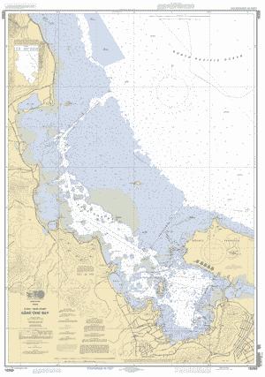 Kaneohe Bay Oahu East Coast Nautical Chart Charts Maps