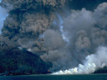 Banda Api Volcano, Indonesia, Volcano photo
