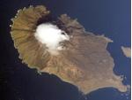 Sarychev Peak volcano, Russia, Volcano photo